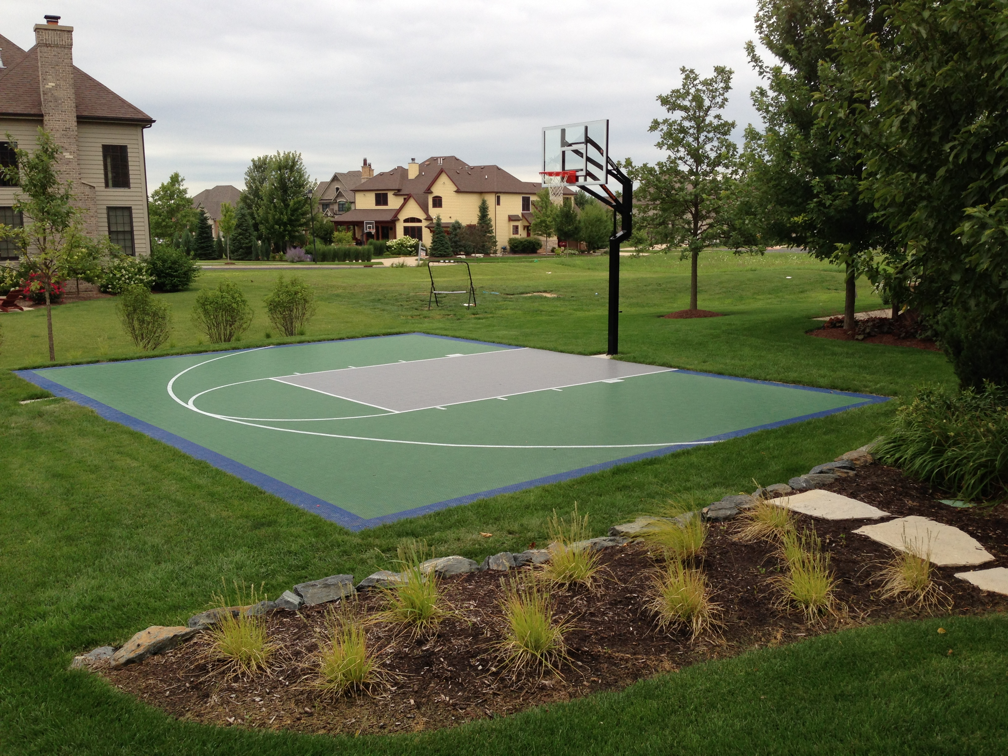 Backyard Game Courts Indoor Home Gyms Snapsports