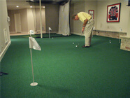 incredible basement golf rooms