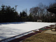 Conventional Ice Rink Frame
