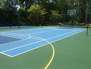 Corporate Basketball Court