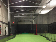 We Install Stationery, Retractable And Custom High Ceiling Cages. Our Retractable  Batting Cages Can Be ...