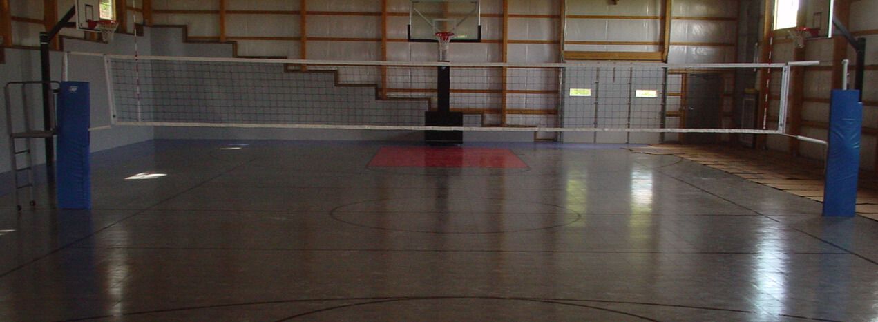 Indoor sports equipment Indoor basketball court ceiling height