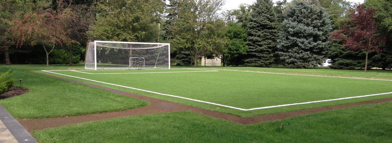 Football Field In Your Backyard : Turf Fields Residential ? Power Court?