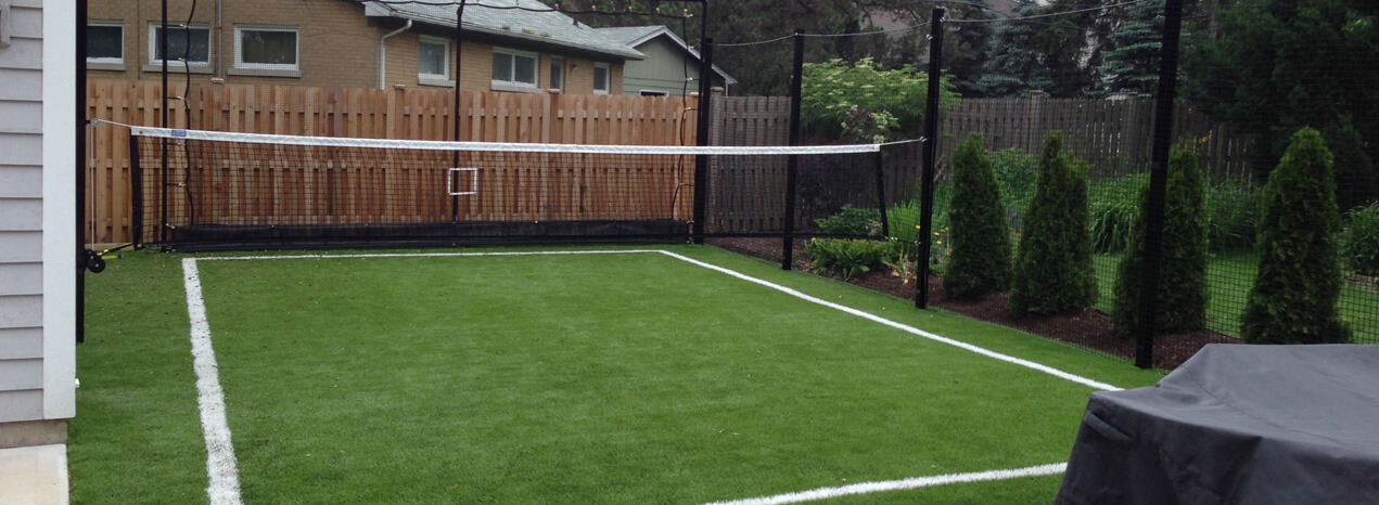 Backyard Turf Football Field :  need the ultimate outdoor sports area for soccer lacrosse football or