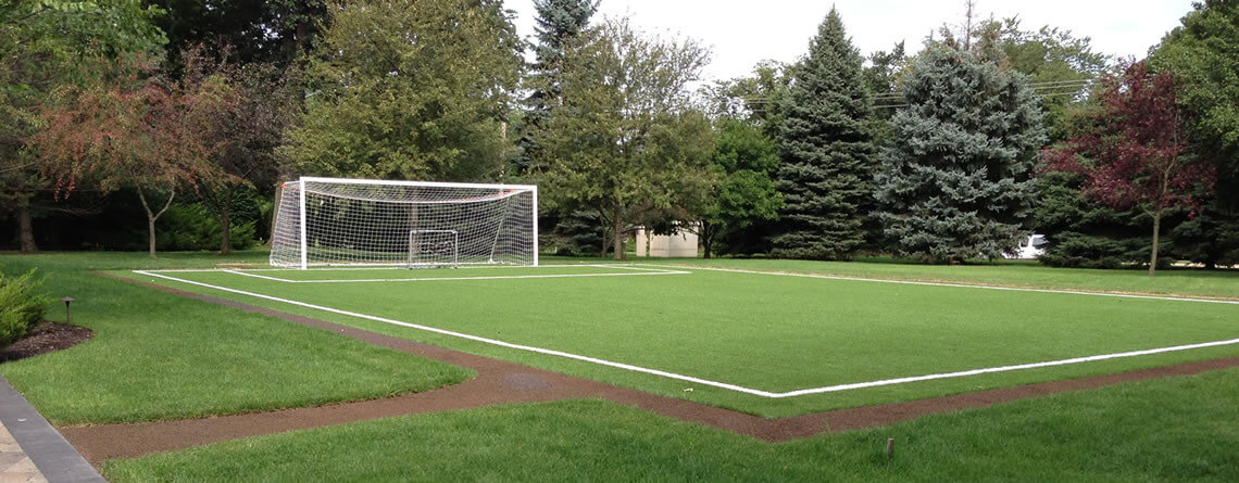 Backyard Turf Field : backyard sports fields by power court back yard soccer training areas
