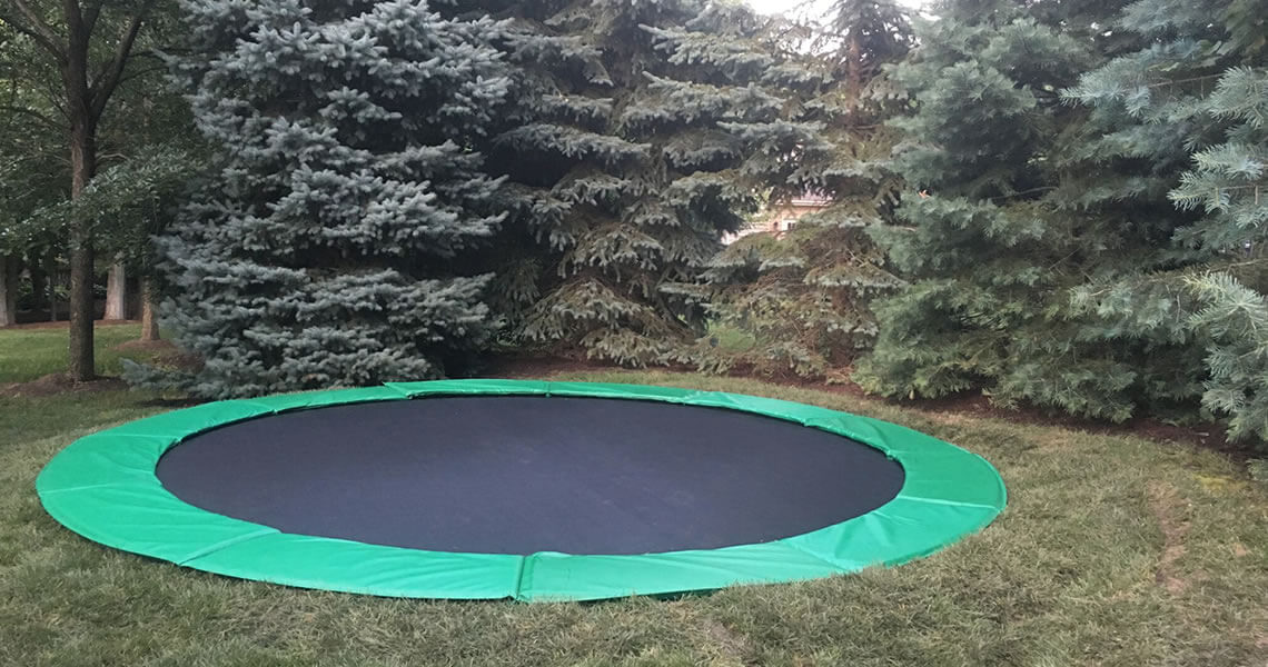Built In Trampolines Power Court